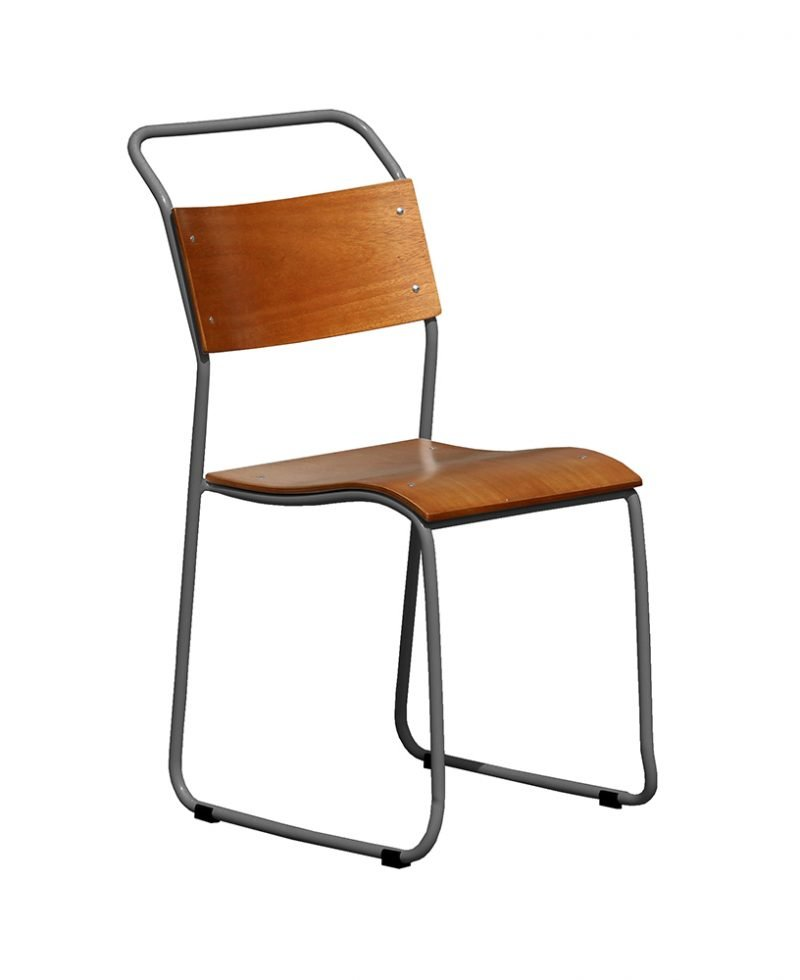 Metal frame plywood dining chair chinese wholesale for Dining chairs metal frame
