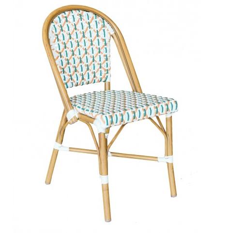 Aluminium bistro chair chinese wholesale serenity made - Chaise aluminium bistro ...