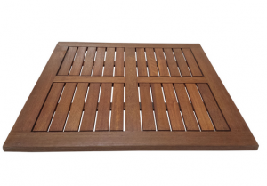 Solid Timber Slat Table Top