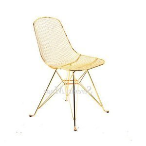 Star Base Gold Chair