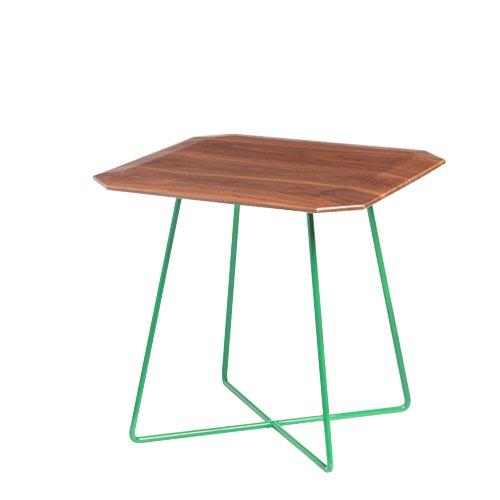 Metal Cross Base Square Table