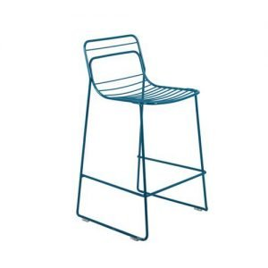 Back supported trendy bar stool
