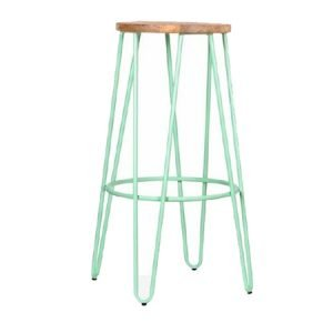 HAIRPIN METAL FRAME BAR STOOL