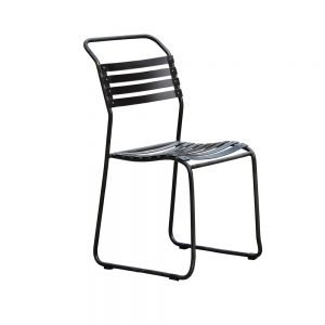 Black Metal Wire Dining Chair