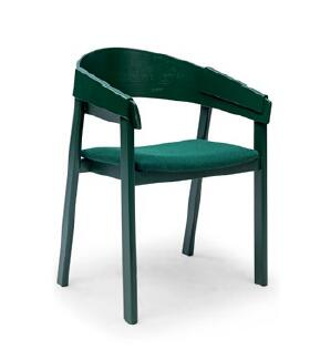 Green Hans Wegner Chair