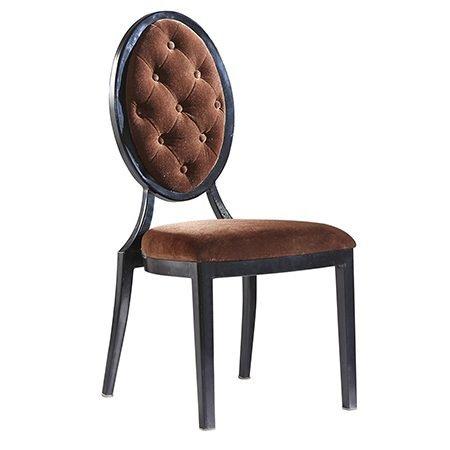 Button Back Medallion Chair
