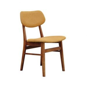 Abby wooden dining chair
