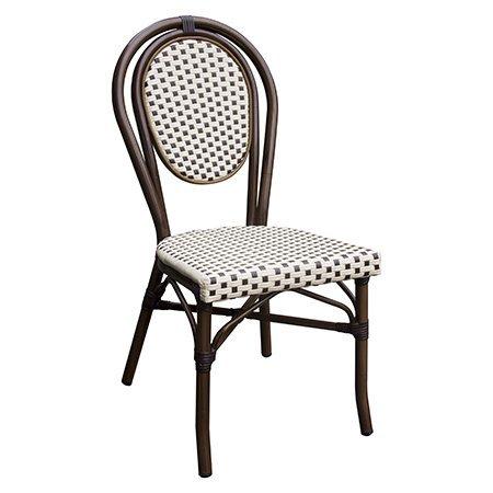 Silvester Outdoor Aluminium Bistro Chair