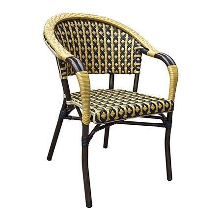 Bumblebee Outdoor Aluminium Bistro Chair