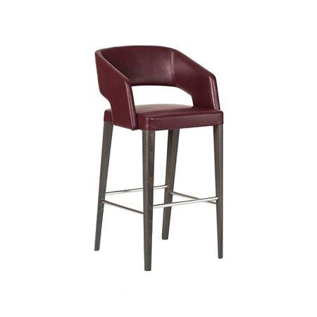 leather bar chair