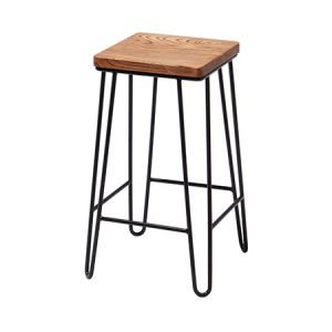 hairpin square stool