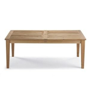 Teak Short Slat Table