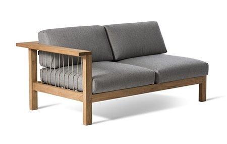 Teak Outdoor Sofa