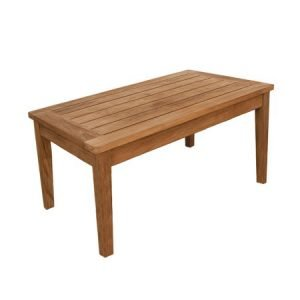 Teak Long Slat Table