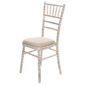 Aluminum tiffany wedding chair