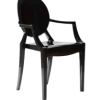 Plastic Round Back Dining Chair