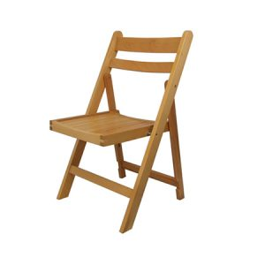 Outdoor Folding Wooden Chair