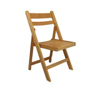 Outdoor Folding Wooden Chair