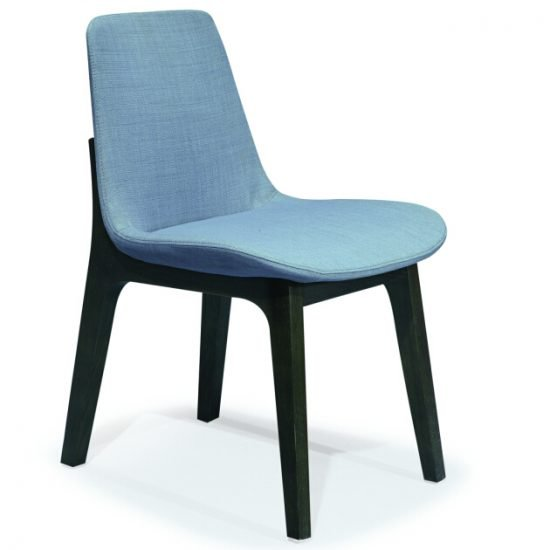 fabric support chair