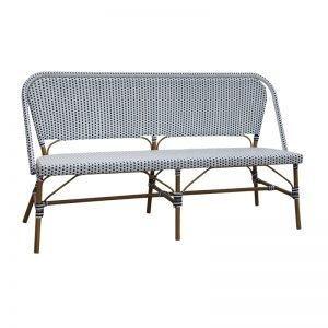 rattan bench