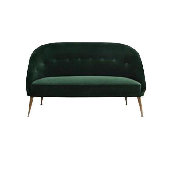 Contemporary Velvet Sofa