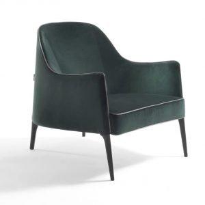 Deep Velvet Lounge Chair