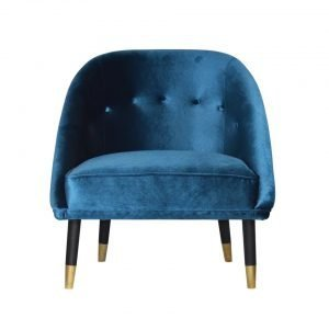 Brass Socked UFO Armchair