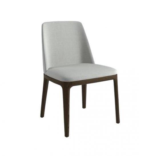 Wooden Leg PU Chair