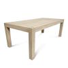 Wooden restaurant table