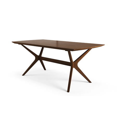 Eight point timber table