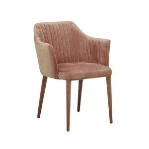 modern velvet dining chair