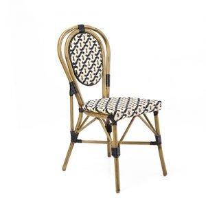 Fake Rattan Bistro Chair