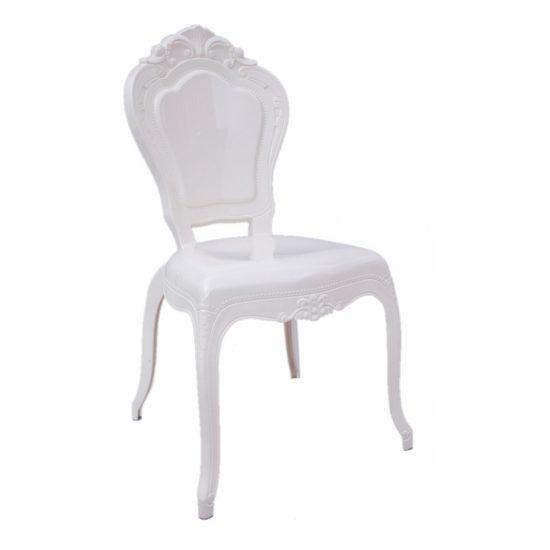 White Bella Wedding Chair