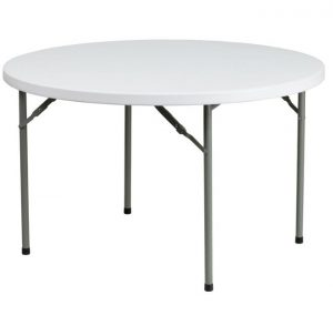 plastic folding Trestle Table