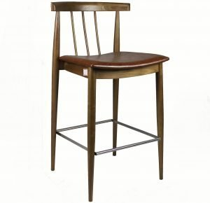 Cherry Wood Bar Stool