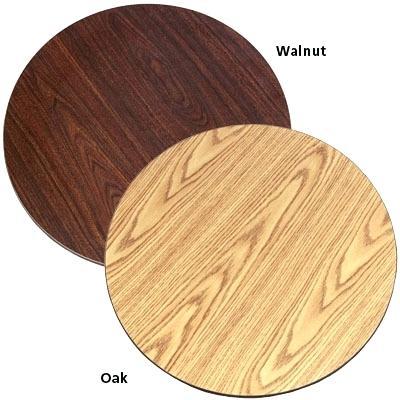walnut and oak table tops